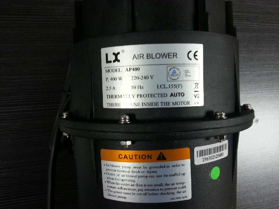 LX AP400V2 SPA BATH BLOWER