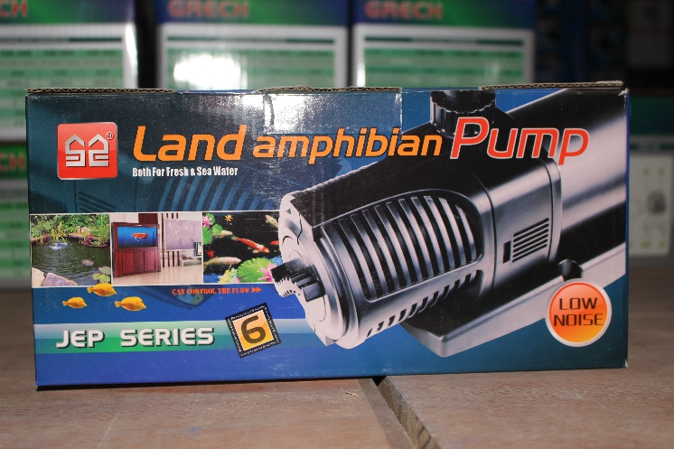 JEP-8000 Sunsun land amphibian pond filter pump