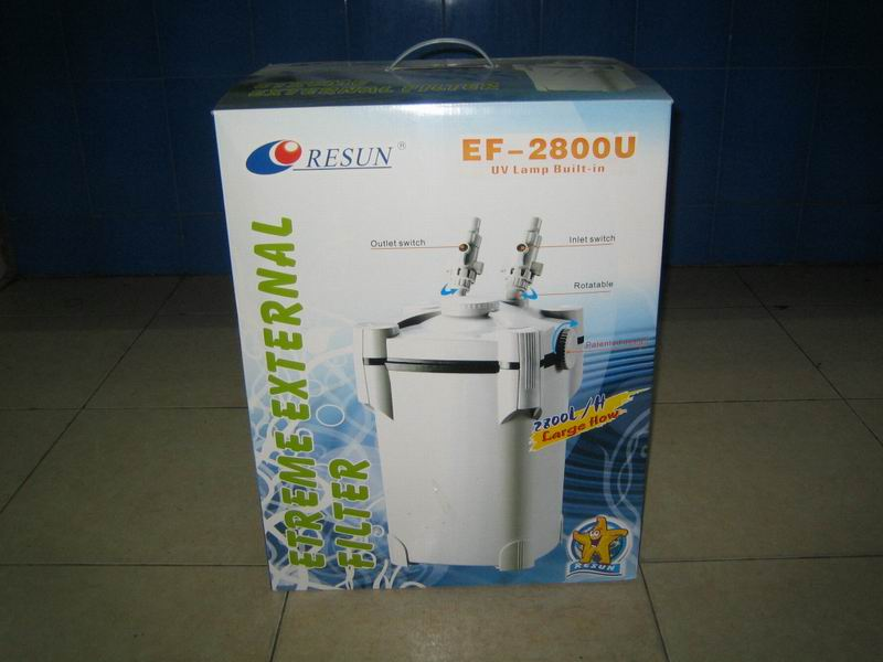 Resun EF-2800U Aquarium UV External Canister Filter
