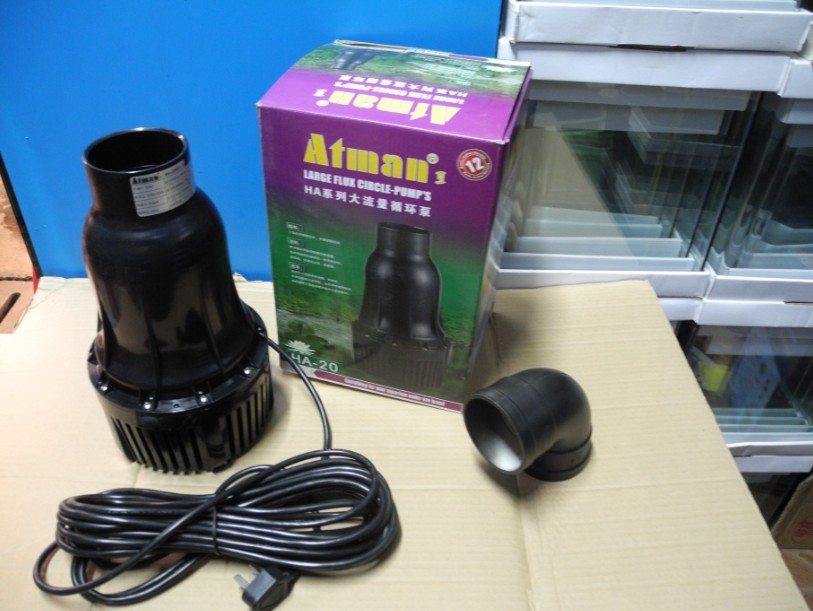 Atman Large flow Koi Pond Pump HA series