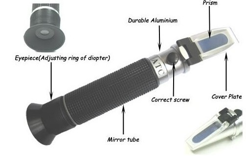 Aquarium ATC Salinity Refractometer