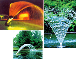 Fountain Nozzle-Adjustable Waterwall