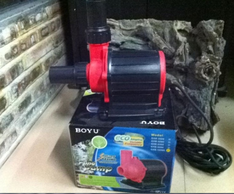 BOYU GXB-6500 Aquarium Inline Water Pump